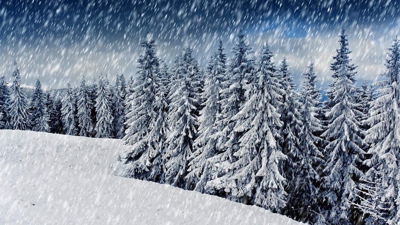 снежная погода картинка сменив цвет