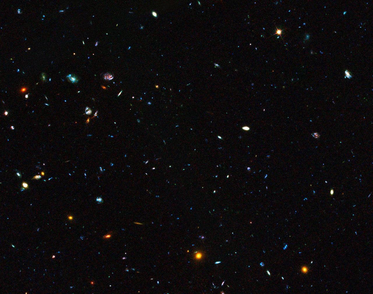 Почему космос черный