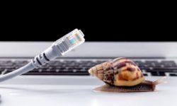 интернет медленно работает
