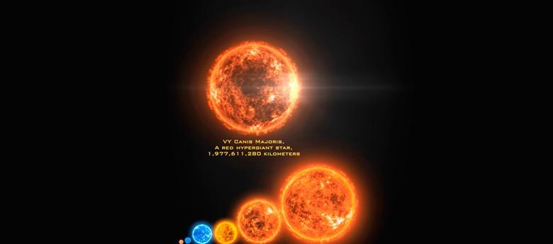 Самые большие звезды во Вселенной