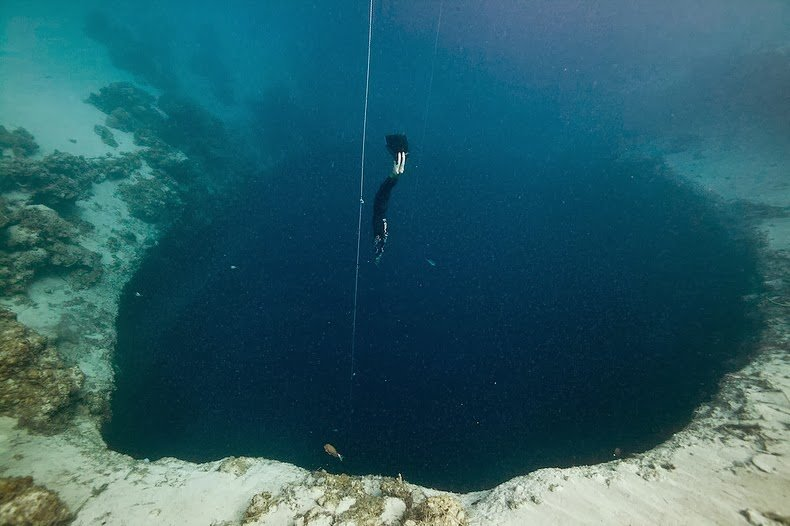 Что такое голубая дыра
