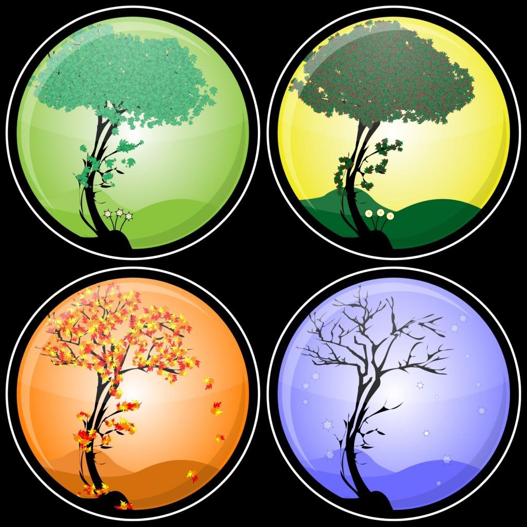 Сезонные явления в картинках для детей